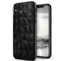 Чехол накладка iPhone Xs Rainbow Case (Clear)