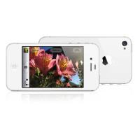 Apple iPhone 4 16GB (White)  (Refurbished) фото 2