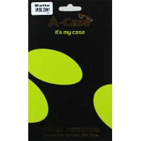 Защитная Пленка для iPhone 5/5S A-CASE  (2in1) (Матовый) фото 2
