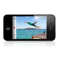 Apple iPhone 4S 64GB (Black)  (Refurbished) фото 2