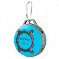Колонка акустическая Optima Speaker MK-4 Bluetooth (Blue) фото 2