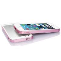 Бампер для iPhone 5/5S SGP Neo Hybrid EX (Розовый) (Пластик) фото 2