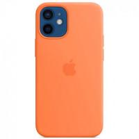 Чехол iPhone 12 mini Apple Silicone Case (Kumquat)