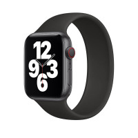 Ремешок-браслет для Apple Watch 42mm/44mm Braided Solo Loop (Black) S