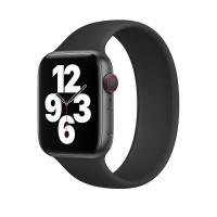 Ремешок-браслет для Apple Watch 38mm/40mm Braided Solo Loop (Black) S