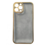 Чехол iPhone 12 Pro Max Shining Mate Full Camera (Gold)
