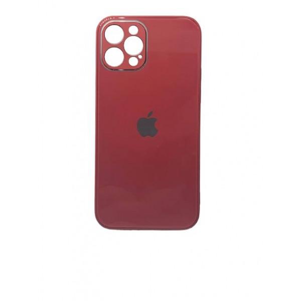 Чехол iPhone 12 Pro Glass Pastel (camellia)