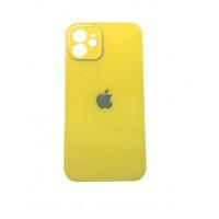 Чехол iPhone 12 mini Glass Pastel (yellow)