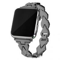 Ремешок-браслет для Apple watch 38mm New lady band (black)