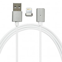 Кабель USB Lightning Magnetic Data Cable (Silver)