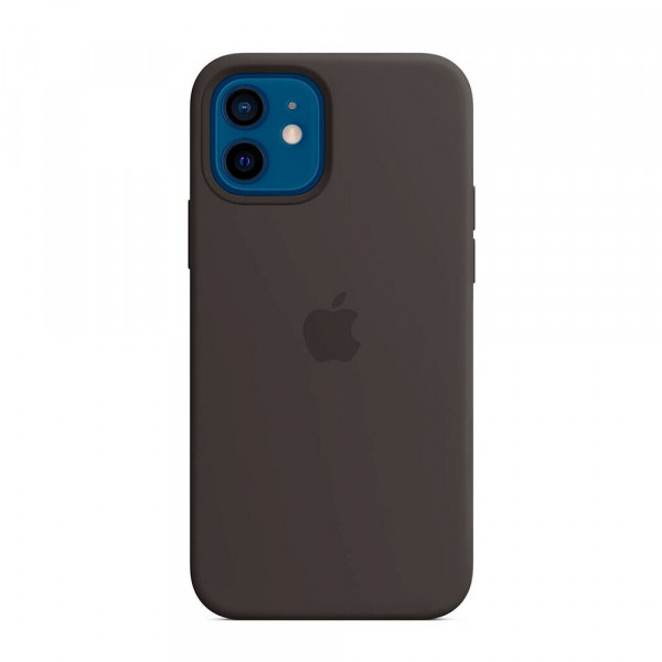 Чехол iPhone 12 mini Apple Silicone Case (Black)
