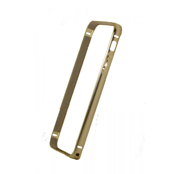 Бампер для iPhone 5/5S COTEetCL A6061 (Серебристый) (Алюминий)
