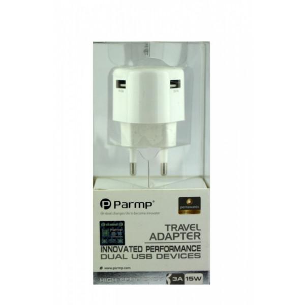 Сетевое зарядное устройство Redot (2*USB) (Черный)