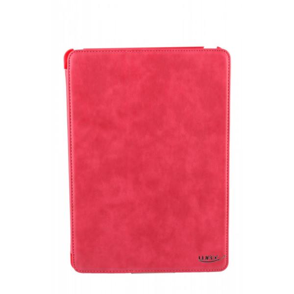 Чехол Книжка для iPad Air WRX (Малиновый) (Кожа)