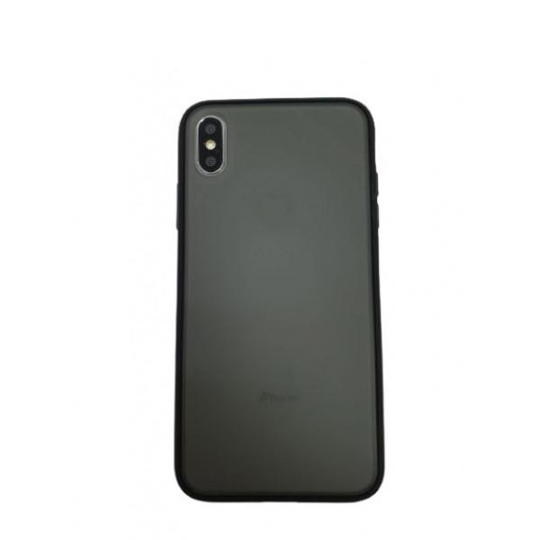 Чехол накладка iPhone Xs Max Gingle Series (black)