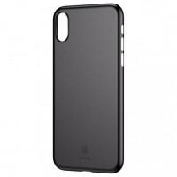 Чехол накладка iPhone Xs Max Baseus Wing  Case (black)