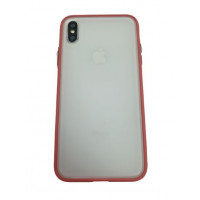 Чехол накладка iPhone Xs Max Gingle Series (camelia red)