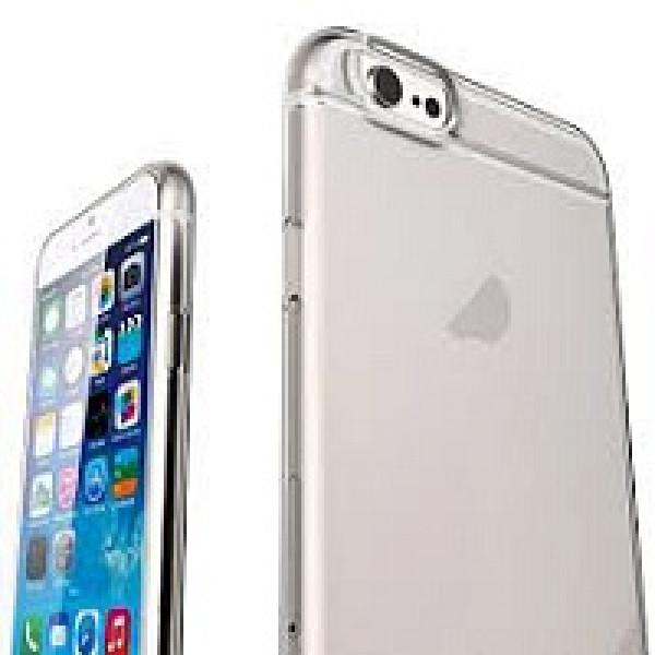 Чехол Накладка для iPhone 6 Slim Case (Серый) (Пластик)