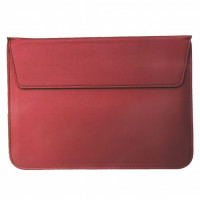 Чехол-конверт MacBook 13 PU sleeve bag (Wine Red)