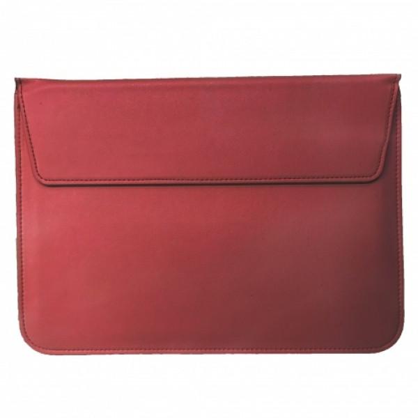 Чехол-конверт MacBook 13 PU sleeve bag (Wine Red)
