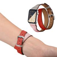 Ремешок для Apple Watch Hermes Double Tour 42mm (Цветной) (Кожа)