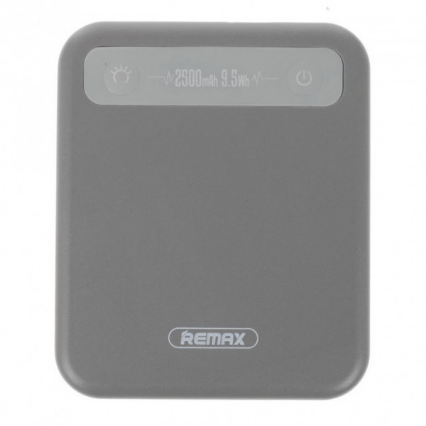 Портативное зарядное устройство Remax RPP-51 Pino 2500mAh (Gray)