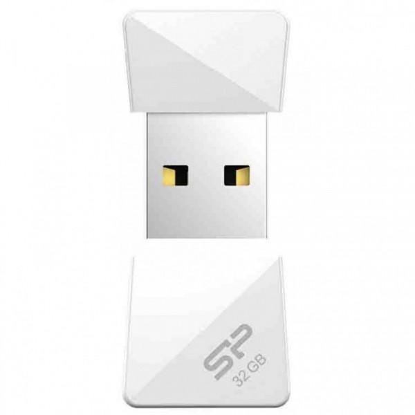 Накопители памяти USB  Flash SiliconPower Touch T08 (32Gb) white