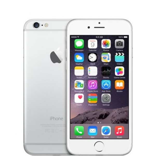 Apple iPhone 6 64GB (Silver) (MG4H2)