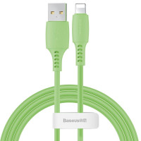Кабель Baseus Colorful Cable USB for iP 2.4A (1.2 m) (Green)