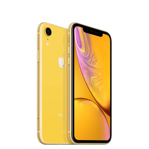 Apple iPhone XR Dual Sim 128GB (Yellow) (MT1E2)