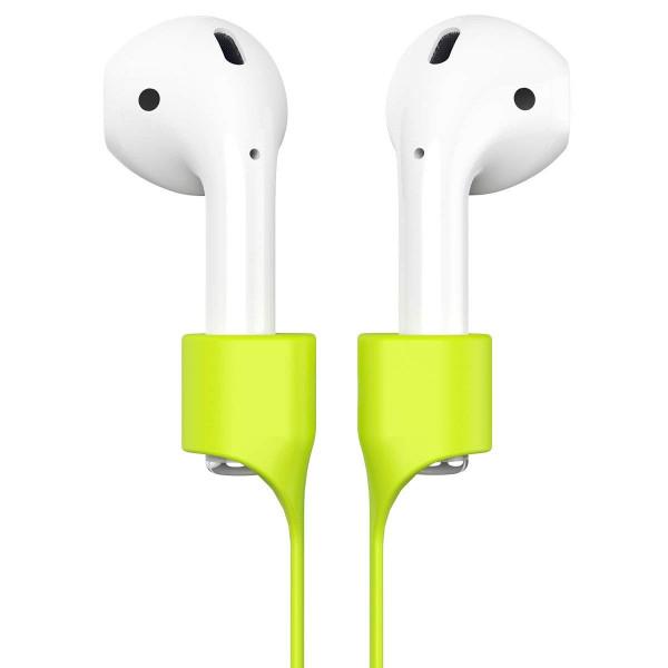 Ремешок Baseus Earphone Strap для Apple AirPods (Салатовый)