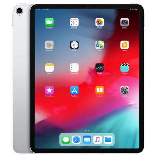 Apple iPad Pro 12.9 2018 Wi-Fi + Cellular 256GB Silver (MTJ62, MTJA2)