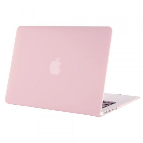 Чехол накладка MacBook Air 13 Slim Case (Бледно розовый) (Матовый)
