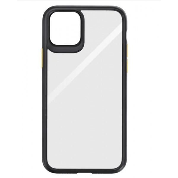 Чехол Накладка для iPhone 11 Pro Max Rock Guard Series (black/yellow)