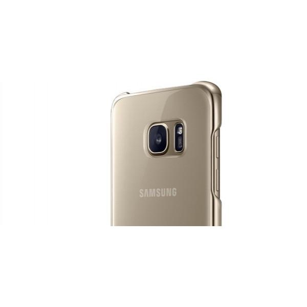 Чехол накладка Baseus for Samsung S7 Edge Gold