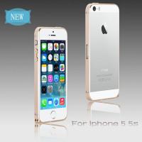 Бампер для iPhone 5/5S COTEetCL Claps P (Золотой) (Алюминий)