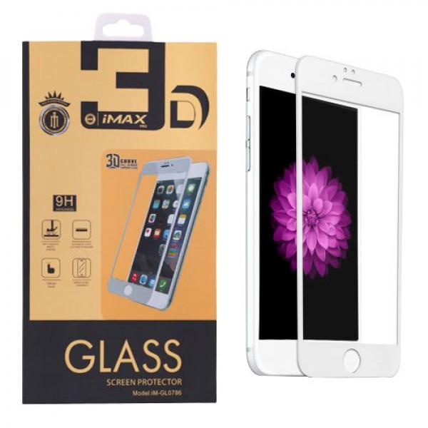 Защитное стекло для iPhone 7 Plus iMAX 3D white (Белый)
