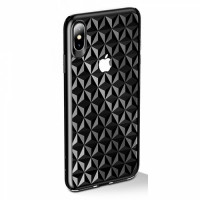 Чехол накладка iPhone Xs Max Usams Gelin (black)