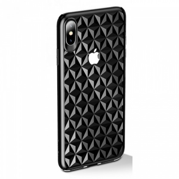 Чехол накладка iPhone Xs Max Usams Gelin (black)