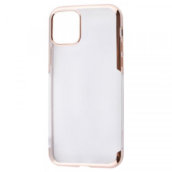 Чехол Накладка для iPhone 11 Pro Max Baseus Shining Case (Gold) (Полиулетан)
