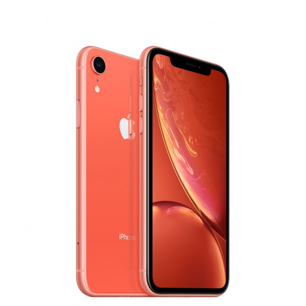 Apple iPhone XR Dual Sim 128GB (Coral) (MT1F2)