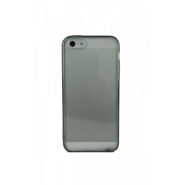 Чехол Накладка для iPhone  5/5S Amazon Basics (Черный) (Пластик)