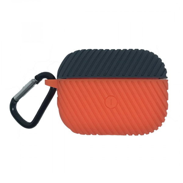 Чехол для AirPods Pro Protective Silicone Case (Orange)