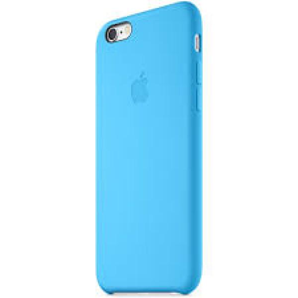 Чехол Накладка для iPhone 6 Plus Apple Silicone Case High Copy (Голубой) (Силикон)