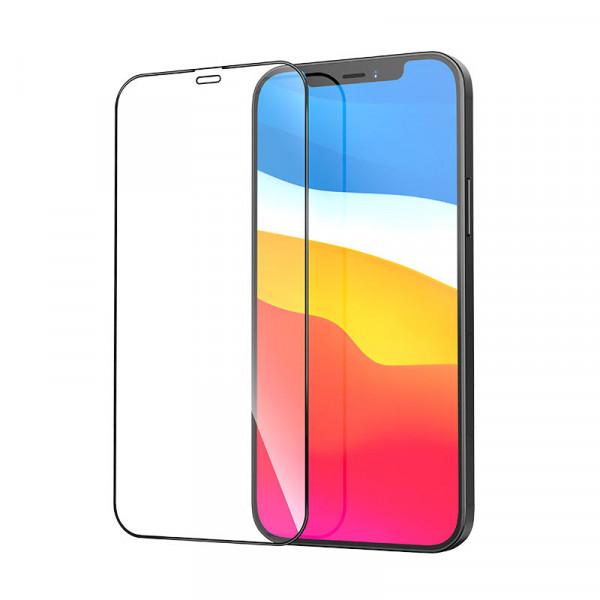 Защитное стекло iPhone 12/12 Pro KONVEX Protective Glass Full Front
