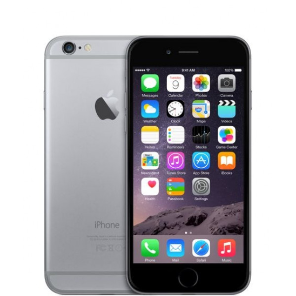 Apple iPhone 6 Plus 64GB (Space Gray) (MGAH2)