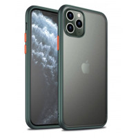Чехол Накладка для iPhone 11 Pro iPaky Cucoloris (green\orange)