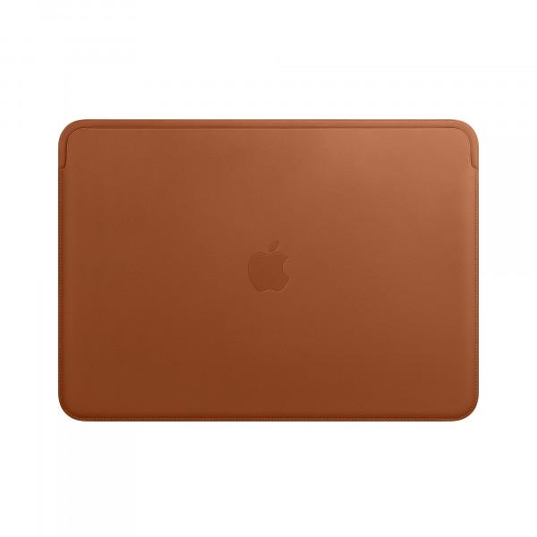 Чехол MacBook Air 13 Leather Case (Бледно коричневый) (Преcсованая кожа)