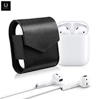 Чехол для AirPods WiWU Leather Case (Gray)