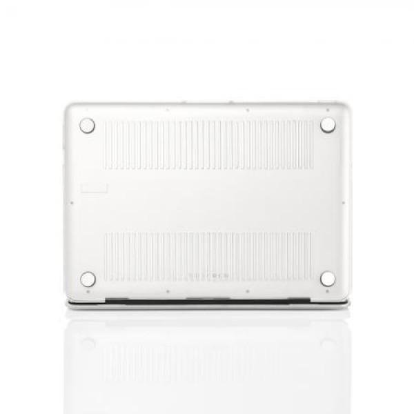 Чехол накладка MacBook Air 11.6 Slim Case (Белый) (Матовый)